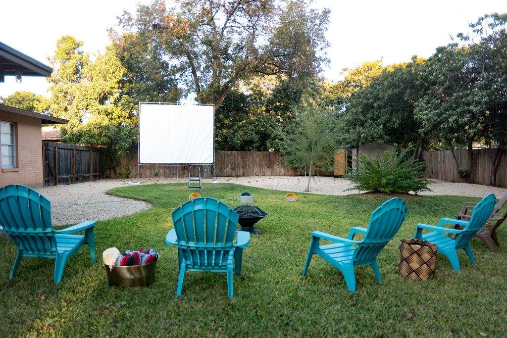 Fun and Unique Backyard